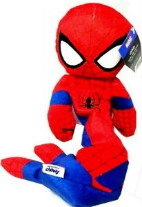 Marvel Avengers SPIDER-MAN Bungee Plush with Rope Squeaky Dog Toy, 1 pc.
