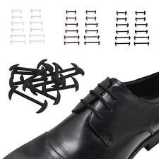 12 X ELASTICO GRATIS LEGATURA NO CRAVATTA SILICONE lacci Abito lacci di scarpe