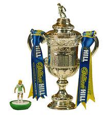 Scottish FA Cup & caja de presentación. producto con licencia oficial. Subbuteo Fútbol. 100mm