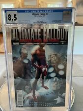 ULTIMATE FALLOUT #4 CGC 8.5 1st PRINT 1st App MILES MORALES 2011 SPIDERMAN