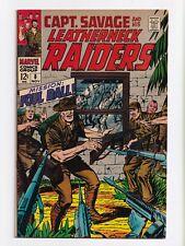 Captain Savage and His Leatherneck Raiders #8 Marvel Comics 1968 VF+ 8.5