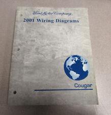 2001 Mercury Cougar Service Wiring Diagram Manual