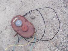 Farmall Ih H M Tractor Original Amp Gauge Box With Light Switch