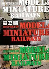 Various Issues of HISTORY OF MODEL & MINIATURE RAILWAYS Magazine from the 1970s