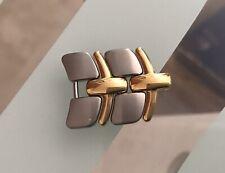 Zenith Acropolis Maglie Links Maglia Link Acciaio Oro Steel Gold Tones 19mm 19