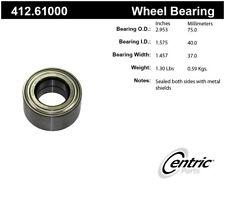 Wheel Bearing-Premium Bearings Front,Rear Centric 412.61000