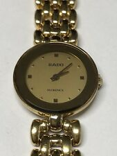 Rado Lady Florence Gold Plated