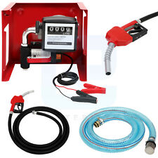 12v Dc 155w Electric Fuel Transfer Pump Big Flow Rate With Fuel Meter Nozzle