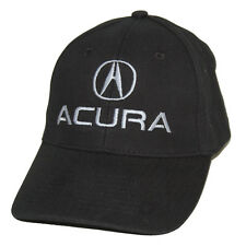 Acura Black Brushed Cotton Hat