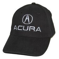 Acura Black Brushed Cotton Hat