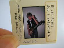 More details for original press photo slide negative - bryan adams - 1984 - d