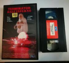 VHS - TERMINATOR DALL'INFERNO di Rene Cardona Jr [NUMBER ONE VIDEO]