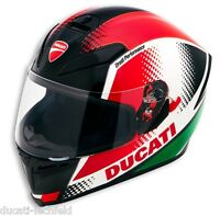 DUCATI AGV PEAK V3 Helm Sonnenblende IntegralHelm Helmet tricolore NEU !!