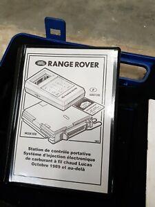 RANGE ROVER - STATION DE CONTROLE ECU