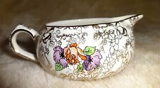 Vintage Lord Nelson POMPADOUR CHINTZ pattern stackinh Creamer Only