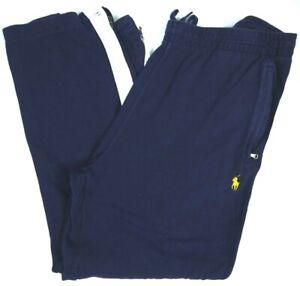 Polo Ralph Lauren Sweatpants/Track Pants Blue/White Stripe Mens L Activewear
