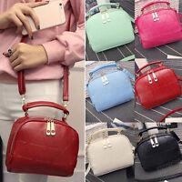 Fashion Women Shoulder Bag Leather Handbag Tote Mini Purse Travel Messenger Bags