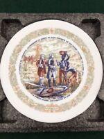 D'Arceau Limoges Porcelain Lafayette Legacy 1776 Revolutionary War Plate II #337