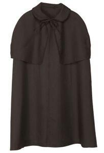 Sherlock Holmes Victorian Detective 4 Piece Set Inc Cape Fancy Dress Costume