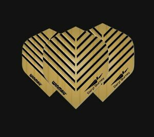 Winmau Daryl Gurney Superchin Embossed Gold Dart Flights