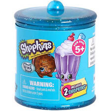 NEW Shopkins Food Fair 2 pack candy jar blind basket Season 4 Bling Dlish Donut