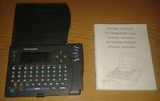 Agenda electrónica con radio (DATABANK - RADIO 9810)