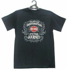 Harley Davidson Black Hd Its Not The Destination Its The Journey T-Shirt