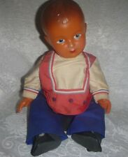 Boy Doll ~ Made of Celluloid ~ France ~ with metal stand