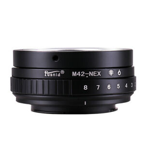 Tilt Shift Adapter Ring for M42 Mount Lens to Sony E A7 A7S A7R II A6500 NEX-7