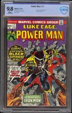 Power Man # 17 CBCS 9.8 White (Marvel 1974) 1st issue of new series