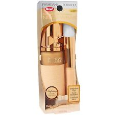Physicians Formula Touch of Glow Nude Wear LIGHT maquillage + pinceau PF36