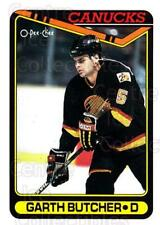 1990-91 Topps Tiffany #150 Garth Butcher