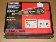NEW Craftsman Rotary Tool Kit - Variable Speed, Corded