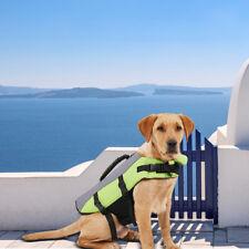 Dog Life Jacket for Small Medium Large Dog Swim Buoyancy Aid Float Safety Vest