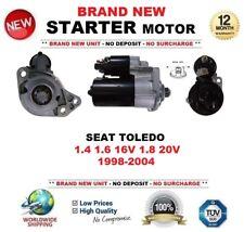 FOR SEAT TOLEDO 1.4 1.6 16V 1.8 20V 1998-2004 NEW STARTER MOTOR 1.1kW 9Teeth