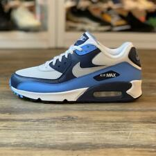 Nike Air Max 90 Essential Gr.42,5 Sneaker weiß blau AJ1285 105 Sportschuhe Unise