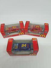 1998 RACING CHAMPIONS 1:64 50TH ANNIVERSARY McDONALD'S  CARS