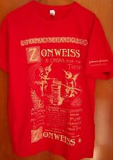 ZONWEISS first toothpaste tube T shirt med Johnson & Johnson throwback 1800s ad