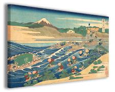 Quadro moderno Katsushika Hokusai vol XI stampa su tela canvas arredo poster