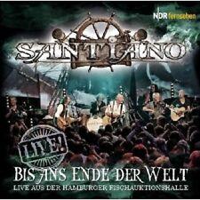 """SANTIANO """"BIS ANS ENDE DER WELT-LIVE"""" 2 CD NEW+"""