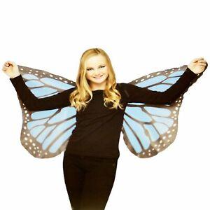 Children's Blue Butterfly Wings New Halloween Costume Free Ship Kids