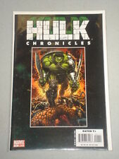 INCREDIBLE HULK CHRONICLES #1 VOL 1 MARVEL DS JULY 2008