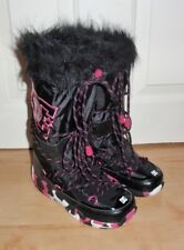 BNIB DC Chalet 2 womens black winter snow boots size UK 3-4 EUR 35-36