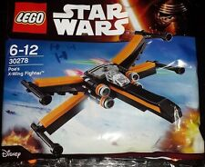 LEGO Star Wars: Force Awakens Poe's X-Wing Fighter 30278 - 64 Pcs [Toys] NEW