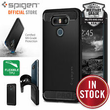Genuine Spigen Rugged Armor Resilient Ultra Soft Cover for LG G6 / G6+ Case