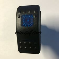 Golf Cart 12 Volt Headlight Switch or Accessories Blue LED Club Car Ezgo Yamaha