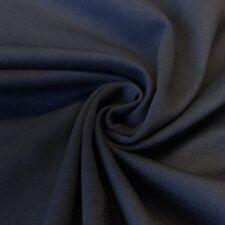 "Navy Ponte De Roma Stretch Knit Fabric 60"" Rayon Nylon Spandex Soft BTY"