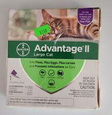 Advantage Ii Flea Treatment for Large Cats Over 9lbs 1 Dose ~ Read!