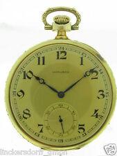 LONGINES  GOLD  FRACK-TASCHENUHR UM 1925 FLORALVERZIERT