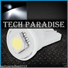 4x Ampoule T10 / W5W / W3W LED 1 SMD 5050 Blanc White veilleuse lampe light